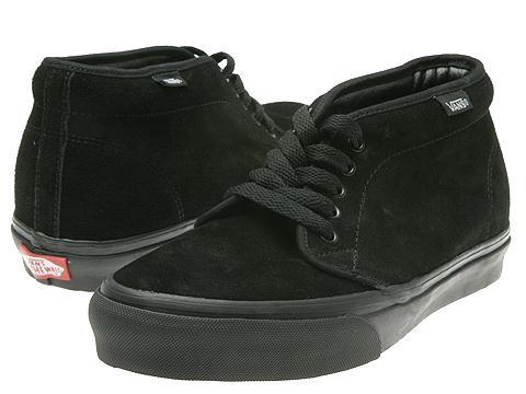 Incaltaminte Femei Vans Chukka Boot Core Classics BlackBlack (Suede)