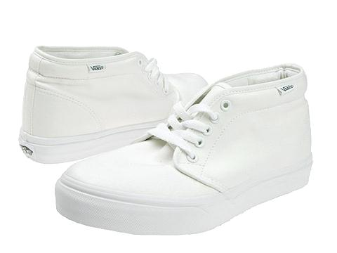 Incaltaminte Femei Vans Chukka Boot Core Classics True White Canvas