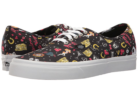 Incaltaminte Femei Vans Authentictrade (Las Vegas) BlackTrue White
