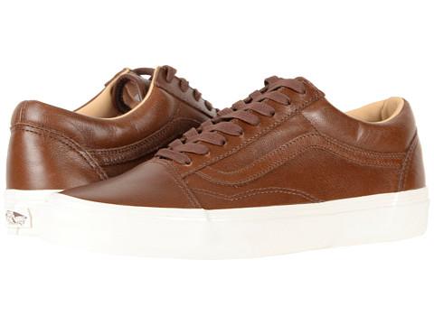 Incaltaminte Femei Vans Old Skooltrade (Lux Leather) Shaved ChocolatePorcini