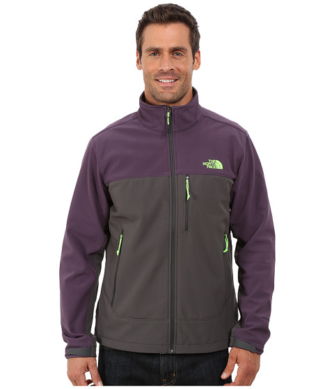 Imbracaminte Barbati The North Face Apex Bionic Jacket Asphalt GreyDark Eggplant Purple