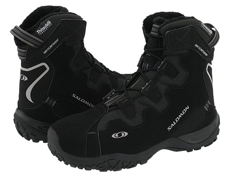 Incaltaminte Barbati Salomon Snowtrip TS WP BlackBlackBlack