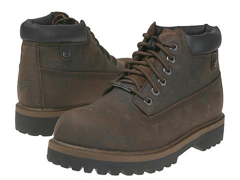 Incaltaminte Barbati SKECHERS Verdict Dark Brown
