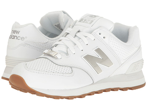 Incaltaminte Barbati New Balance Classics ML574 WhiteSilver