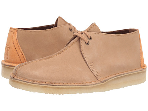 Incaltaminte Barbati Clarks Desert Trek Light Tan Suede