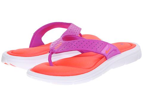 Incaltaminte Femei Nike Comfort Thong Hyper VioletBleached LilacTotal Crimson