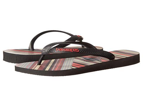Incaltaminte Barbati Havaianas Trend Flip Flops BlackApache Red