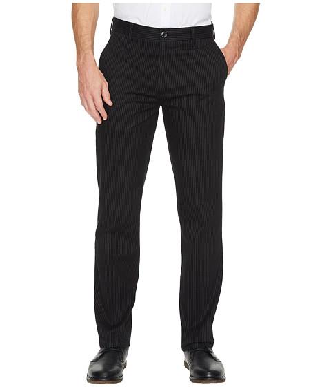 Imbracaminte Barbati Dockers Signature Khaki D1 Slim Fit Flat Front Morissette Refined Black Stretch
