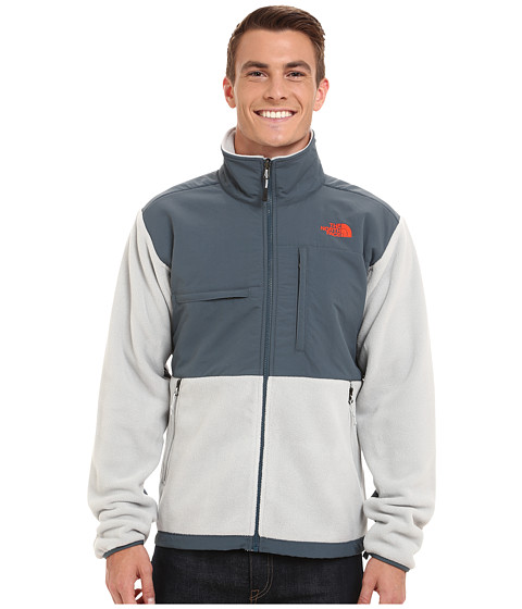 Imbracaminte Barbati The North Face Denali Jacket Recycled High Rise GreyConquer Blue