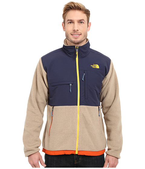 Imbracaminte Barbati The North Face Denali Jacket Recycled Dune Beige HeatherCosmic Blue