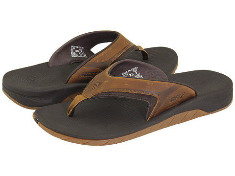 Incaltaminte Barbati Reef Leather Slap II Dark Brown