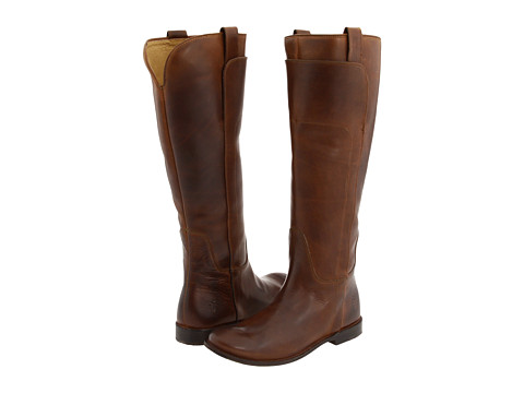 Incaltaminte Femei Frye Paige Tall Riding Cognac Calf Shine