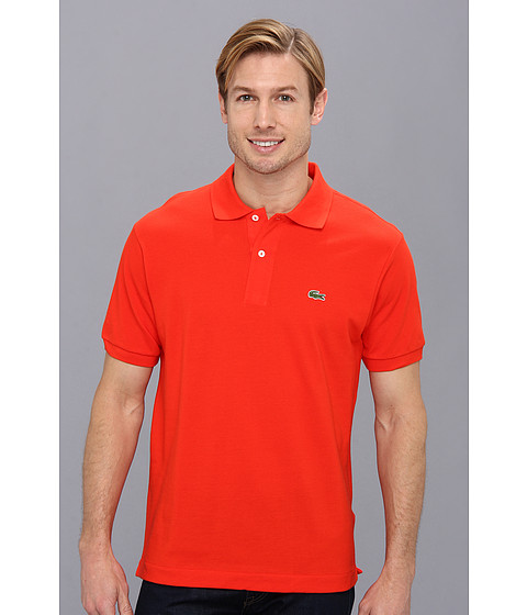 Imbracaminte Barbati Lacoste L1212 Classic Pique Polo Shirt Volcanic Orange