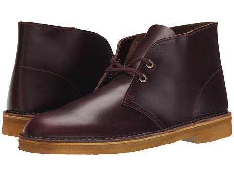 Incaltaminte Barbati Clarks Desert Boot Wine Leather