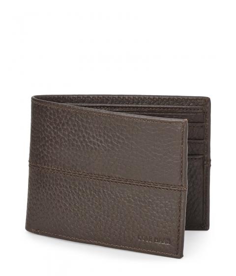 Genti Barbati Cole Haan Leather Billfold Wallet Multicolor