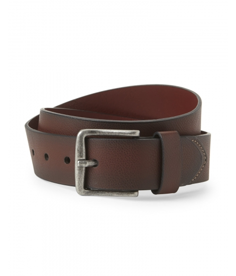 Accesorii Barbati Original Penguin Brown Burnt Edge Belt Brown