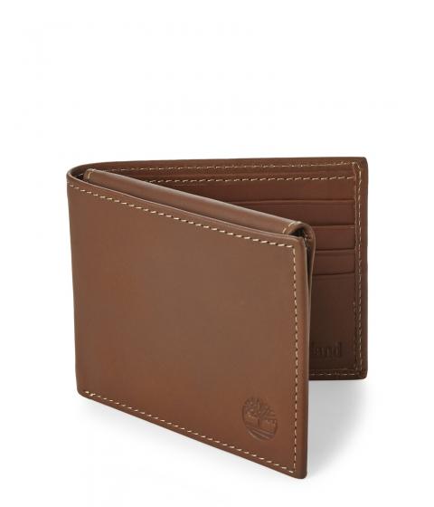 Genti Barbati Timberland Brown Hunter Passcase Wallet Multicolor