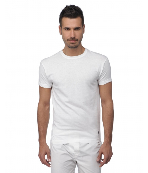 Imbracaminte Barbati US Polo Assn 3-Pack Crew Tees White