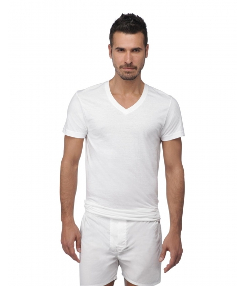 Imbracaminte Barbati US Polo Assn 3-Pack Classic V-Neck Tees White