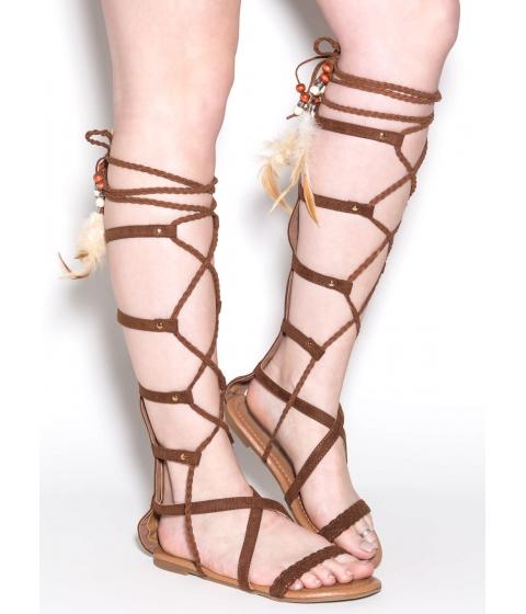 Incaltaminte Femei CheapChic Boho Dreams Gladiator Sandals Tan