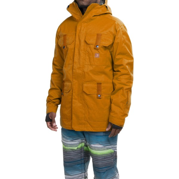 Echipament-sportiv Barbati DC Servo Snowboard Jacket - Waterproof Insulated CATHAY SPICE (02)