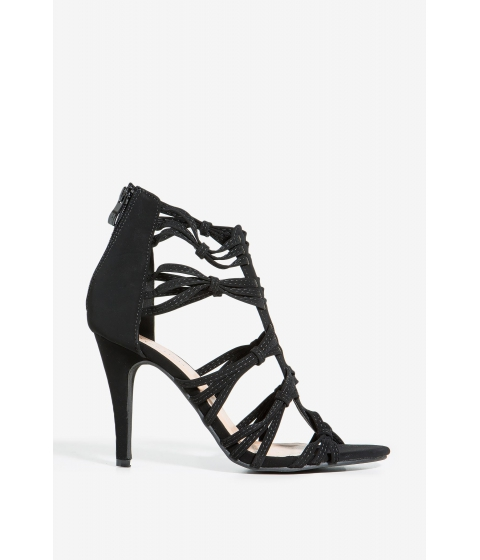 Incaltaminte Femei CheapChic Oblata-1 Prowl The Night Heel Black