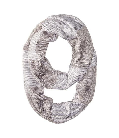 Accesorii Femei Calvin Klein Plaited Stripe Infinity Scarf Heathered Mid Gray