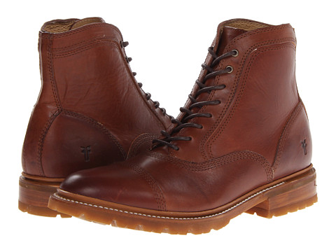 Incaltaminte Barbati Frye James Bal Lug Redwood Smooth Full Grain