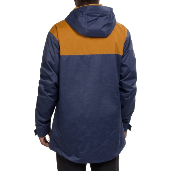 Echipament-sportiv Barbati DC Delinquent Snowboard Jacket - Waterproof Insulated PATRIOT BLUE (02)