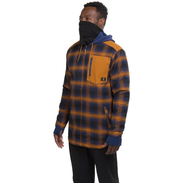 Echipament-sportiv Barbati DC Backwoods Flannel Shirt Jacket - Insulated SEA SPRAY (02)