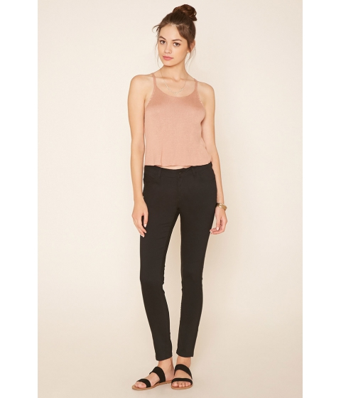 Imbracaminte Femei Forever21 Clean Skinny Jeans Black