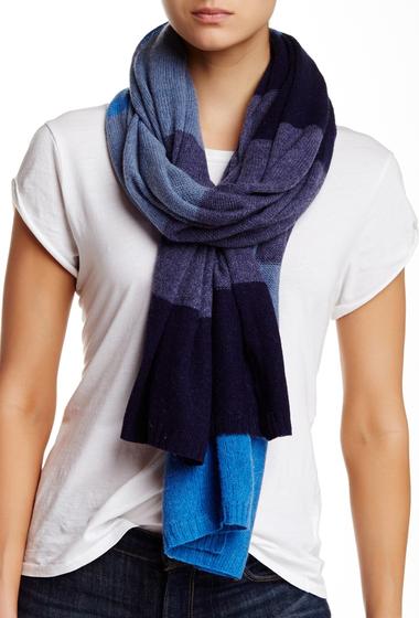 Accesorii Femei Blue Pacific Pure Cashmere Knit Scarf denim