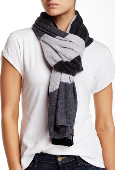 Accesorii Femei Blue Pacific Pure Cashmere Knit Scarf slate