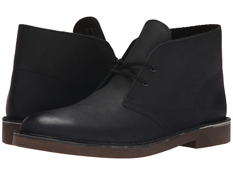 Incaltaminte Barbati Clarks Bushacre II Black Leather