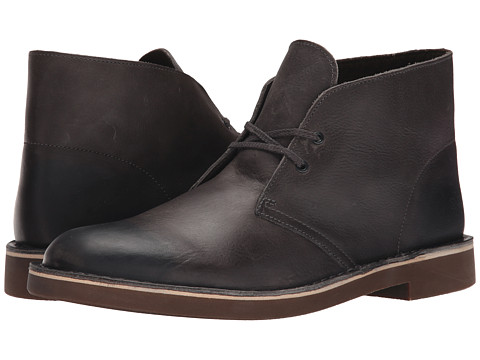 Incaltaminte Barbati Clarks Bushacre II Grey Leather