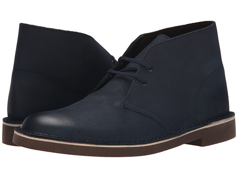 Incaltaminte Barbati Clarks Bushacre 2 Navy Leather