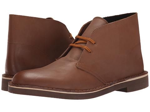 Incaltaminte Barbati Clarks Bushacre II Tan Leather
