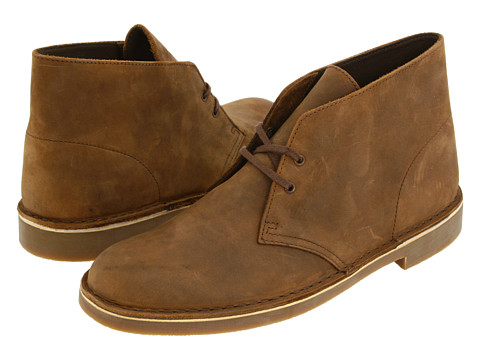 Incaltaminte Barbati Clarks Bushacre II Beeswax Leather