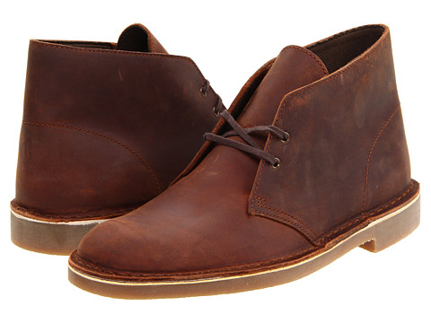 Incaltaminte Barbati Clarks Bushacre II Brown Leather