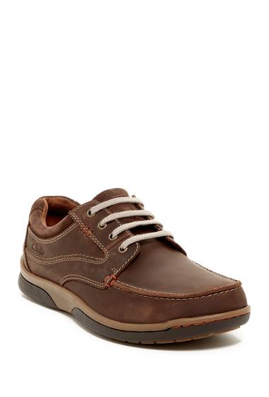 Incaltaminte Barbati Clarks Randle Walking Shoe TOBACCO NUBUCK