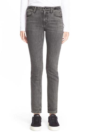 Imbracaminte Femei Helmut Lang Skinny Ankle Jean LIGHT GREY