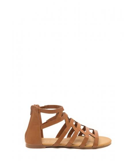Incaltaminte Femei CheapChic Wild Child Faux Leather Sandals Tan