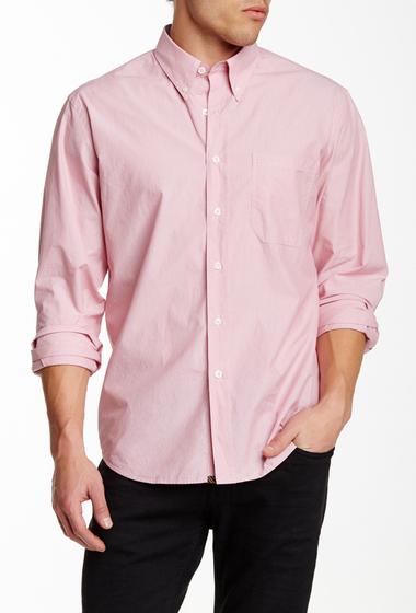 Imbracaminte Barbati Billy Reid Tuscumbia Long Sleeve Shirt ENGINE RED