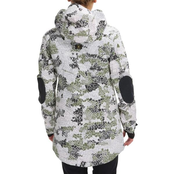 Echipament-sportiv Femei DC Nature DPM Snowboard Jacket - Waterproof Insulated DPM CAMO (01)