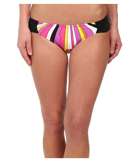 Imbracaminte Femei Trina Turk Sunburst Shirred Side Hipster Bottom Snapdragon Pink