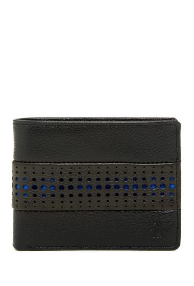 Accesorii Barbati Original Penguin Driving Glove Leather Bifold Wallet BLACK