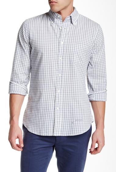 Imbracaminte Barbati Gant Rugger Windblown Check Long Sleeve Hugger Fit Shirt CREAM