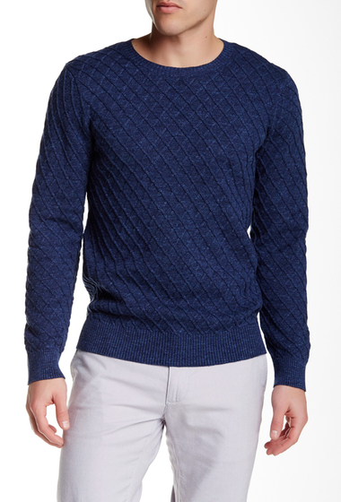 Imbracaminte Barbati Gant Rugger The Diamond Sweater DARK NAVY