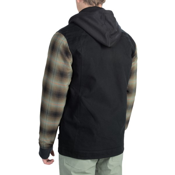 Echipament-sportiv Barbati DC Provoke Flannel Shirt Jacket - Insulated ANTHRACITE (02)