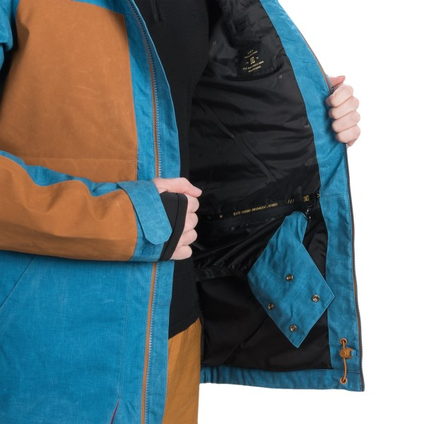 Echipament-sportiv Barbati DC Kingdom Snowboard Jacket - Waterproof Insulated ANTHRACITE (02)
